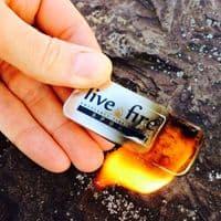Live Fire Emergency Fire Starter - Original Size